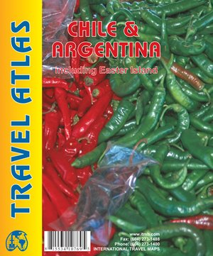 Chili & Argentina Atlas Including Easter Island