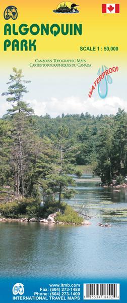Algonquin Province Park (ontario) Canoe Routes