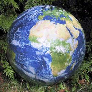 EarthBall 40 inflatable globe