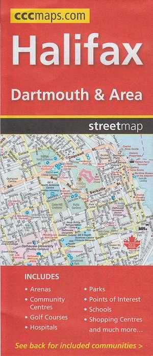Halifax Dartmouth Area Cccmaps