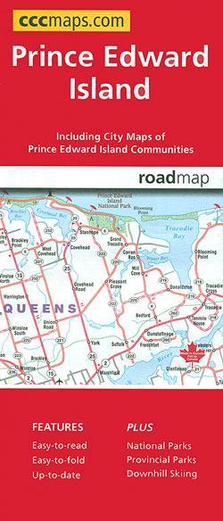 Prince Edward Island Map Art