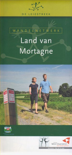Wandelnetwerk Land Van Mortange 1:16.000