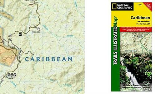 Caribbean National Forest Ti 790 Map