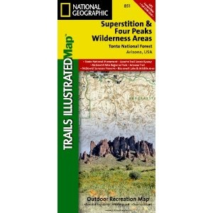 Superstition And Four Peaks Wilderness Areas, Tonto National Forest