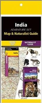 India Adventure Set: Map & Naturalist Guide