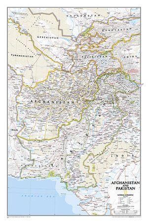 Afghanistan/pakistan, Laminated