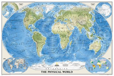 Physical World, Poster Size, Laminated
