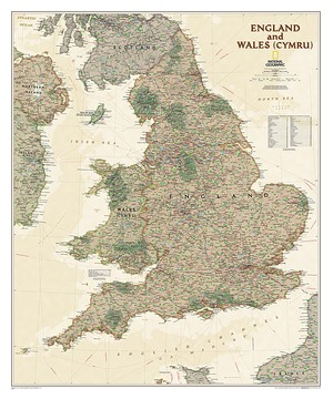 England And Wales Executive, Laminated