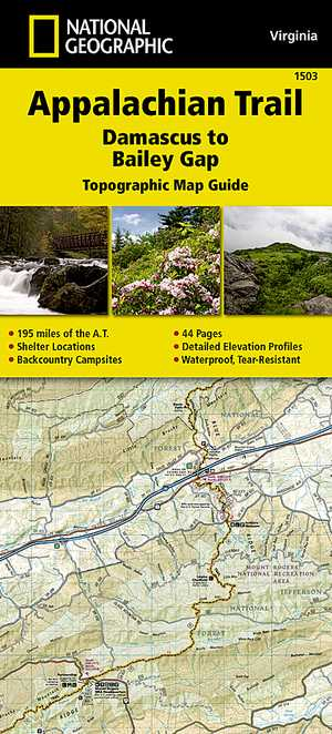 Appalachian Trail - Damascus-Bailey Gap /VA