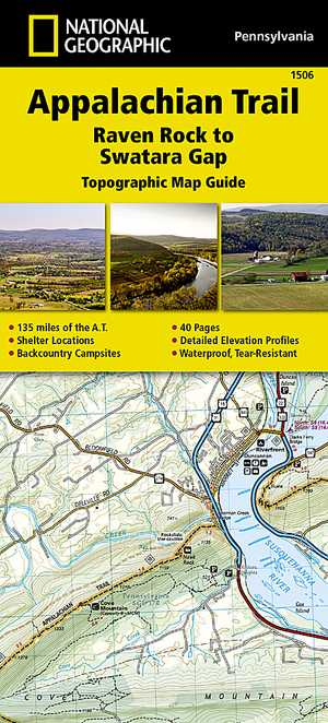 Appalachian Trail - Raven Rock-Swatara Gap /PA