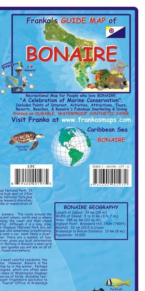 Bonaire Guide & Dive Map Franko's