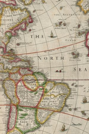 1662 Map Of South America And North America