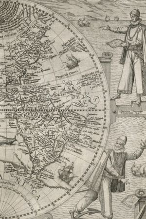 1596 Map Of The Western Hemisphere