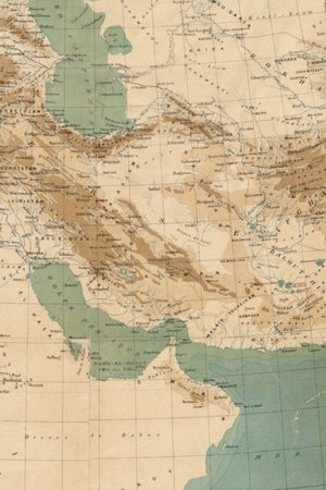 1883 Middle East Map
