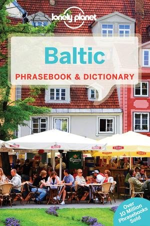 Lonely Planet Baltic Phrasebook & Dictionary