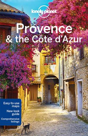Lonely Planet Provence & the Cote D'azur dr 8