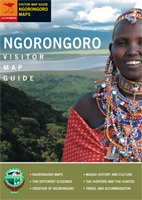 Ngorongoro Visitor Map Guide Jacana