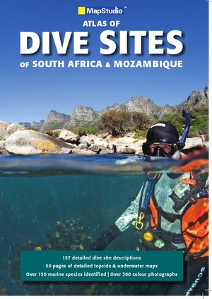 Dive Sites South Africa Mozambique Map.