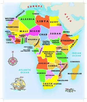 Africa Jigsaw Puzzle Junior 63 Pieces