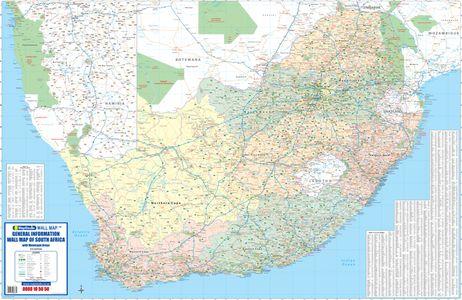 Zuid-Afrika algemene informatie plano 2 bladen