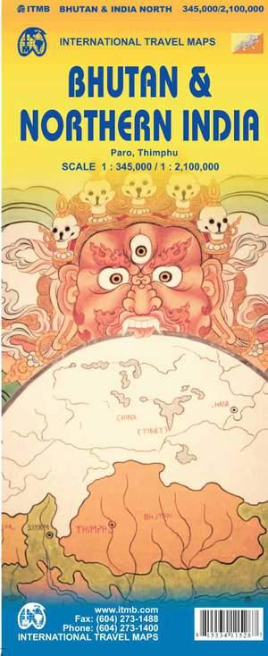 Bhutan & India Noordoost