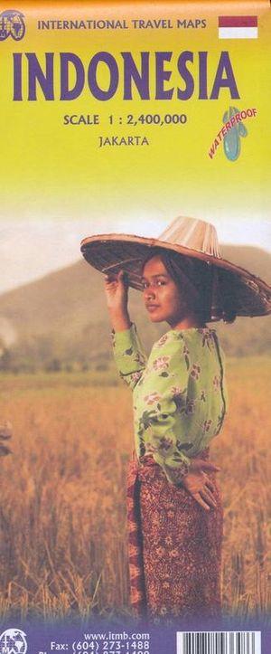 Indonesia ITMB wegenkaart