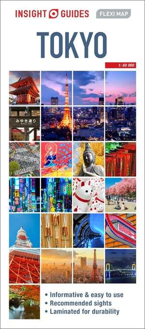 Tokyo Flexi Map Insight Guide