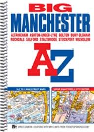 Manchester Big Street Atlas