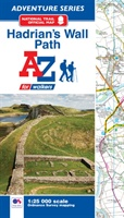 Hadrian's Wall Path Adventure Atlas A-Z