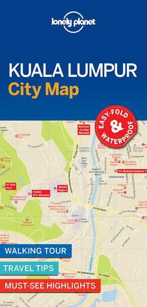 Lonely Planet Kuala Lumpur City Map