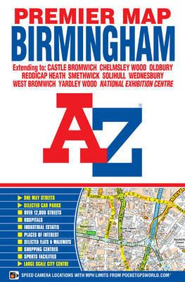 Birmingham Premier Map A-z