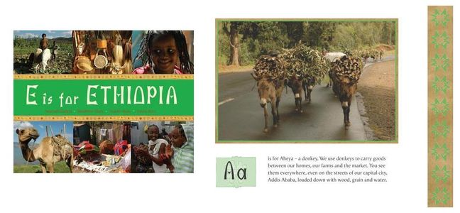 E For Ethiopia Childrens Book