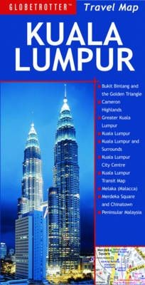 Kuala Lumpur Globetrotter Map Krt