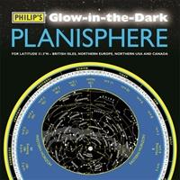 Philip's Glow-in-the-dark Planisphere (latitude 51.5 North)