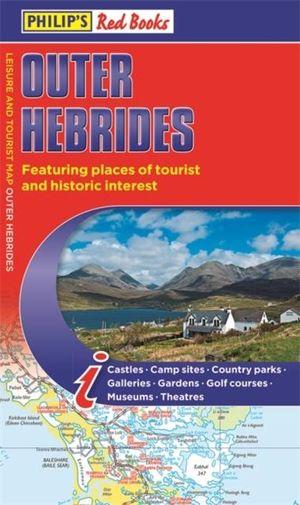 Philip's Outer Hebrides landkaart