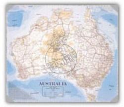 Australia Desk Map Hema