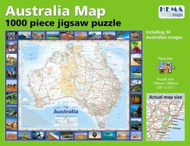 Australia Puzzel Hema (1000 St)
