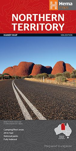 Northern Territory State Handy