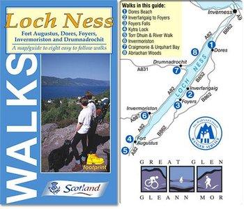 Walks Around Loch Ness Footprint Map