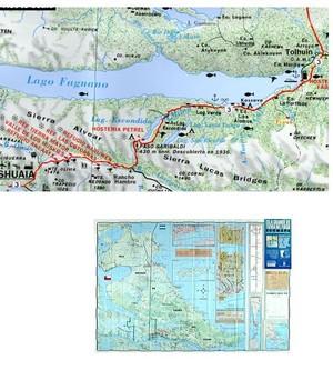 Isla Grande D.tierra Del Fuego 1:500.000