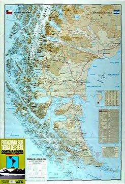 Patagonia Sur, Tierra Del Fuego 1:1.000.000