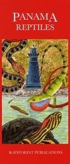 Panama Reptiles Uitvouwkaart Rainforest