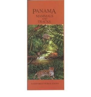 Panama Mammals & Tracks Uitvouwkaart