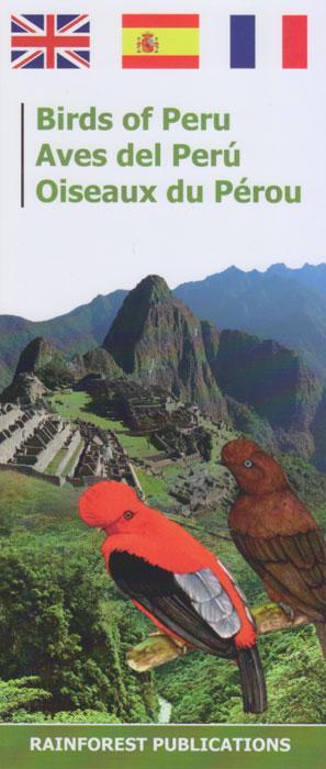 Birds Of Peru Uitvouwkaart
