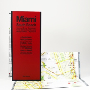 Miami South Beach Red Maps