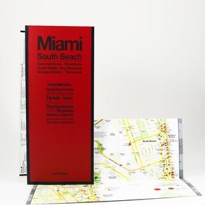 Miami South Beach Red Maps