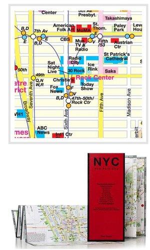 Soho, Nolita & Little Italy Red Map
