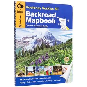 Kootenay Rockies Bc Backroad Mapbooks