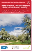 15 Herefordshire Cycle Map 1/110d