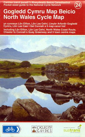 24 North Wales Cycle Map 1/110d